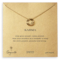 Dogeared 'Karma' Boxed Charm Necklace | Nordstrom