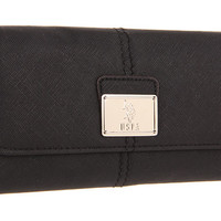 U.S. Polo Assn Color Saffiano Mirror Clutch