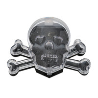 Blackheart Black Skull Eye Shadow