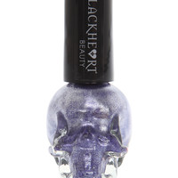 Blackheart Purple Metallic Nail Polish