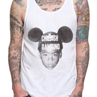 Childish Gambino Mouse Ears Tank Top 2XL
