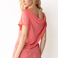 Essential Cowl Back Top