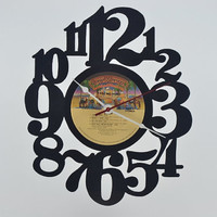 Vinyl Record Album Wall Clock (artist is Cher)