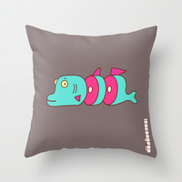 So long Sushi Throw Pillow by simonfoo