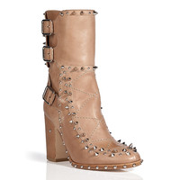 Laurence Dacade - Leather Studded Baulence Half Boots