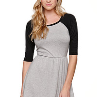 LA Hearts Homerun Dress at PacSun.com