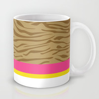 Cute Zebra Girl Mug by markmurphycreative