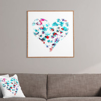 Aimee St Hill Floral Heart Framed Wall Art