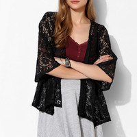 Pins And Needles Lace Open-Front Cardigan - Urban Outfitters