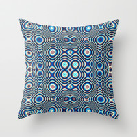 CIRCLE FUN Throw Pillow by catspaws