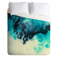 Caleb Troy Painted Clouds V Duvet Cover - Luxe Duvet Cover /