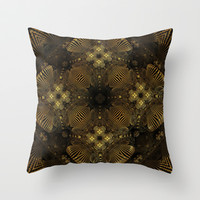 CenterViewSeries286 Throw Pillow by fracts - fractal art