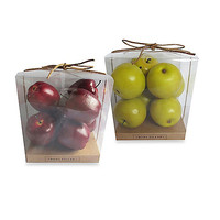 Decorative Apple Vase Fillers (Set of 7)