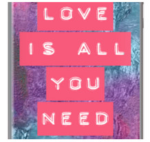 LOVE IS ALL YOU NEED By VIAINA for Apple iPhone 5
