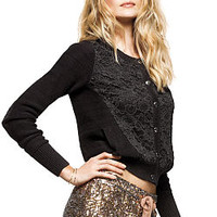 Lace-accent Bomber Jacket - Victoria's Secret