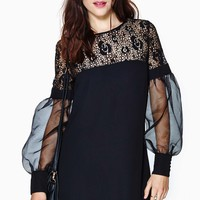 Nasty Gal Coquette Lace Dress