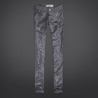 Hollister Sequin Front Jegging