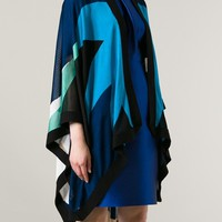 PAPER LONDON 'Grazini' cape