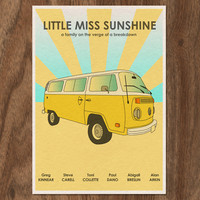 16x12 Movie Poster Print  Little Miss Sunshine by MonsterGallery