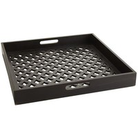 Black Fretwork Tray