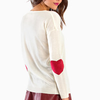 Heart On My Sleeves Sweater $40