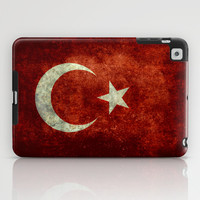 The National flag of Turkey - Vintage version iPad Case by LonestarDesigns2020 - Flags Designs +