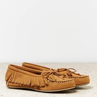 's Fringed Moccasin