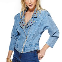 Crystal Dream Denim Jacket