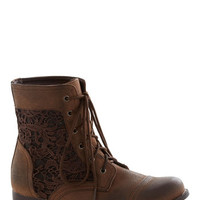 Walk on the Wildflower Side Boot | Mod Retro Vintage Boots | ModCloth.com