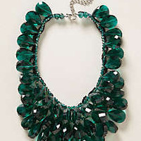 Gem Flutter Bib Necklace