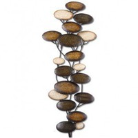 Uttermost Amanita Mwa Wall Art in Gold - 13461 - Decor
