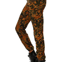The Lola Sweatpant in Blotched Camo