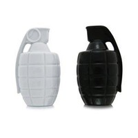 Grenade Salt & Pepper Shakers