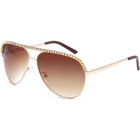 Full Tilt Accomplice Sunglasses Gold One Size For Women 22175962101