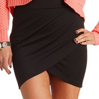 TULIP BODY-CON MINI SKIRT