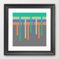 kapanje Framed Art Print by trebam