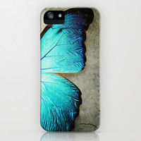 Butterfly iPhone & iPod Case by KunstFabrik_StaticMovement Manu Jobst