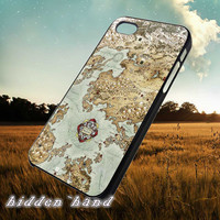 Vintage Epic Map,Case,Cell Phone,iPhone 5/5S/5C,iPhone 4/4S,Samsung Galaxy S3,Samsung Galaxy S4,Rubber,13/07/13/Ar