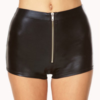 Striking High-Waisted Hot Shorts