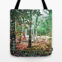 :: Walk in the Woods :: Tote Bag by GaleStorm Artworks
