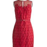 Poinsettia Party Dress | Mod Retro Vintage Dresses | ModCloth.com