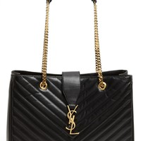 Saint Laurent 'Cassandre - Lisse' Shopper
