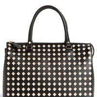 Marni Cutout Calfskin Leather Tote