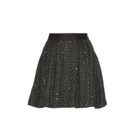 Ahalya sequinned bouclé skirt