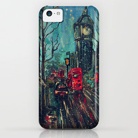 Impressionistic London iPhone & iPod Case by Andreea Iuliana