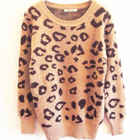 LEOPARD SWEATER BBICA from MegaFashion