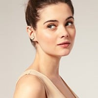 ASOS | ASOS Double Leaf Ear Cuff at ASOS