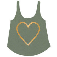 HEARTS OF GOLD TANK TOP