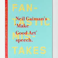 Make Good Art By Neil Gaiman - Urban Outfitters