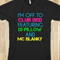 CLUB BED T-SHIRT